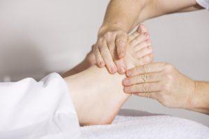 pied et reflexologie